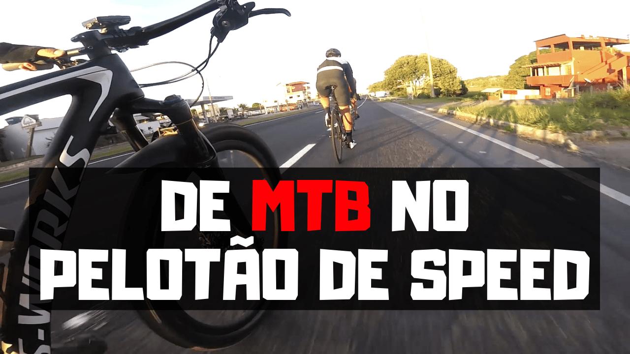 TREINO DE MOUNTAIN BIKE NO PELOTAO DE SPEED