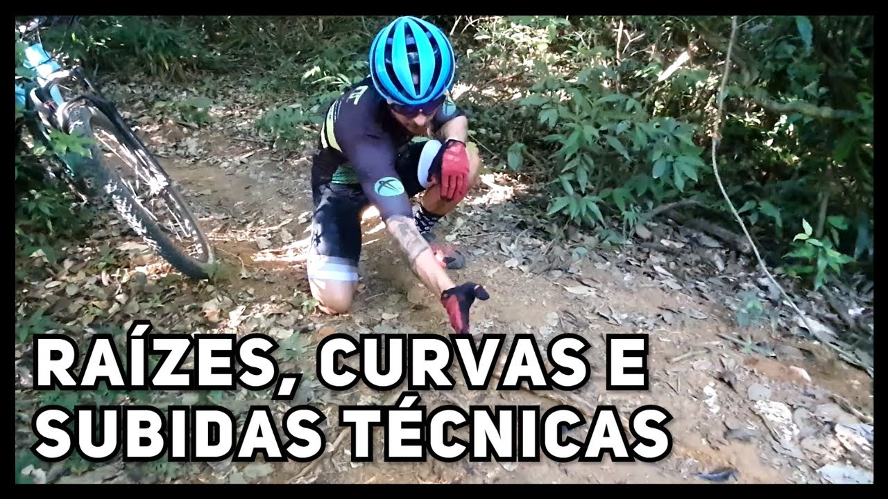 Como passar raizes de Mountain Bike