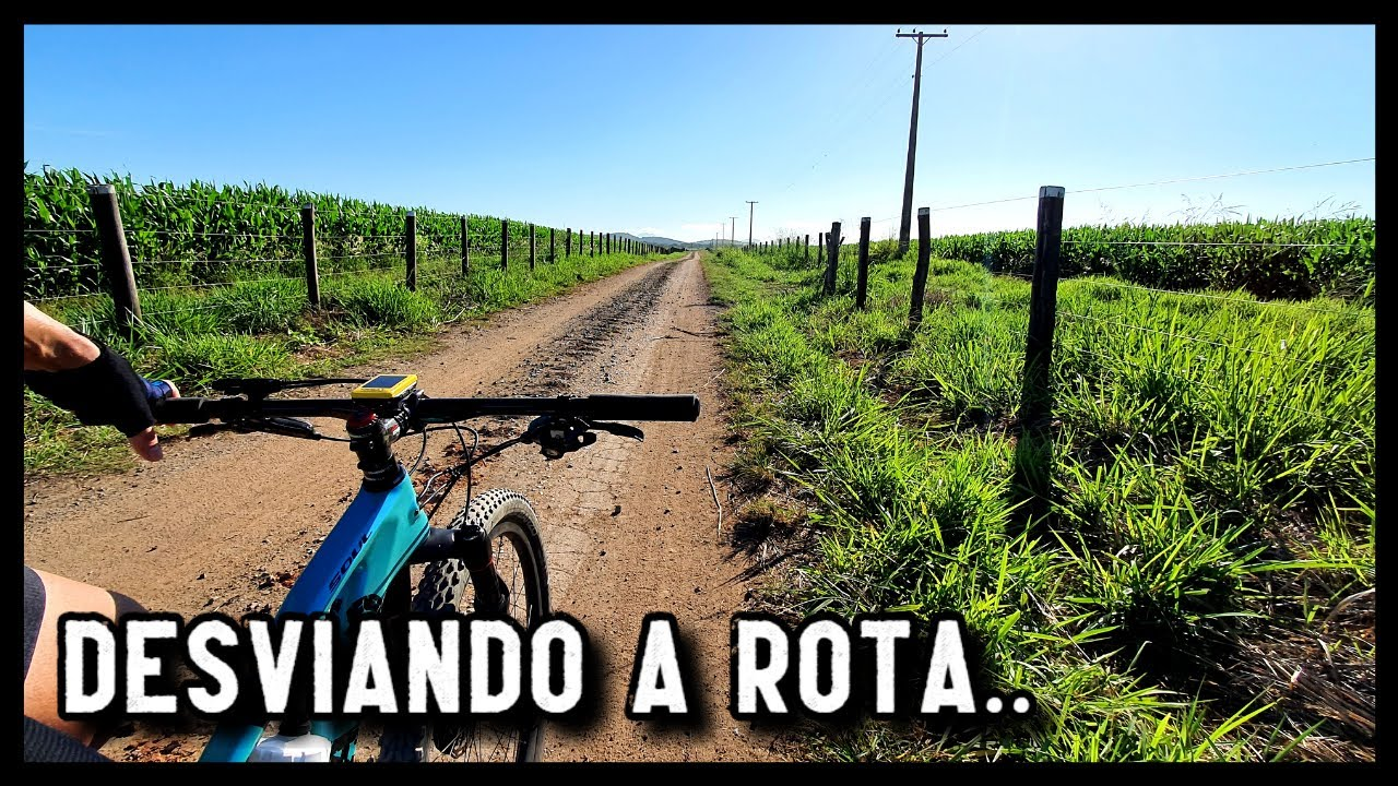 DESVIANDO A ROTA NO TREINO DE MOUNTAIN BIKE