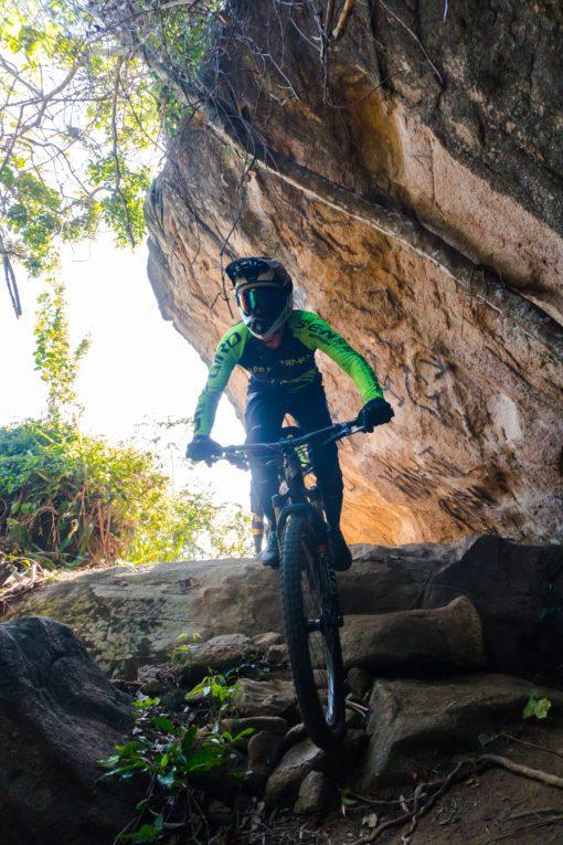 Camisa de Ciclismo Café Na trilha Xama Cycling, Enduro MTB