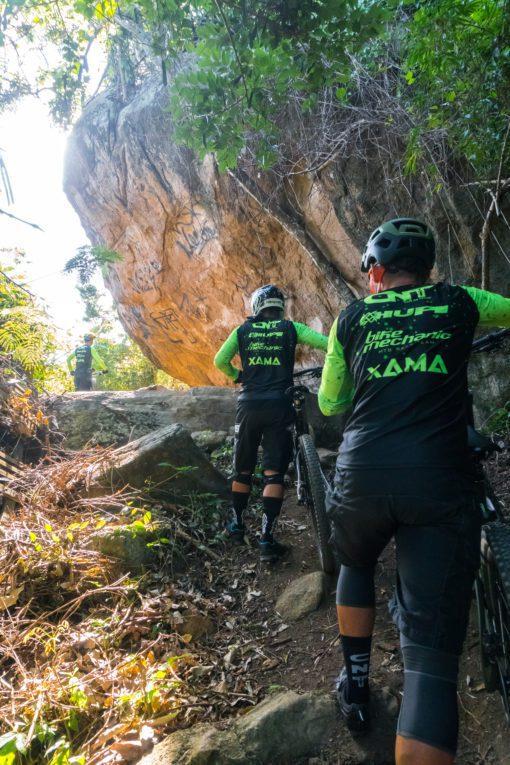 Camisa de Ciclismo Café Na trilha Xama Cycling