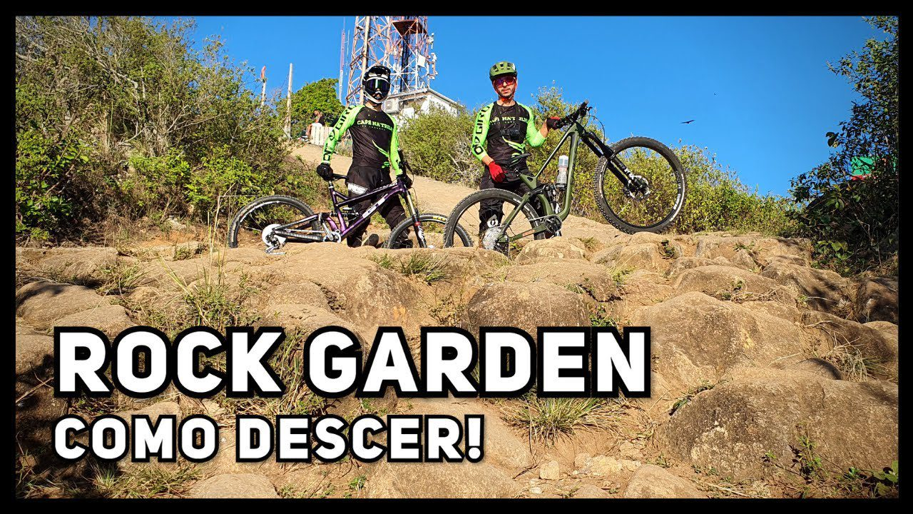 como descer rock garden de mountain bike