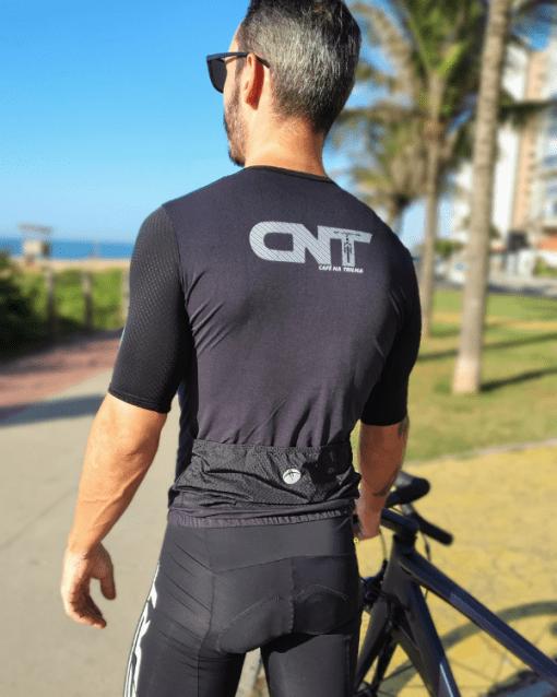 Camisa de ciclismo Black Café na Trilha - Tecido 100% poliéster com tratamento Xtreme Dry com proteção UV solar fator 50.
