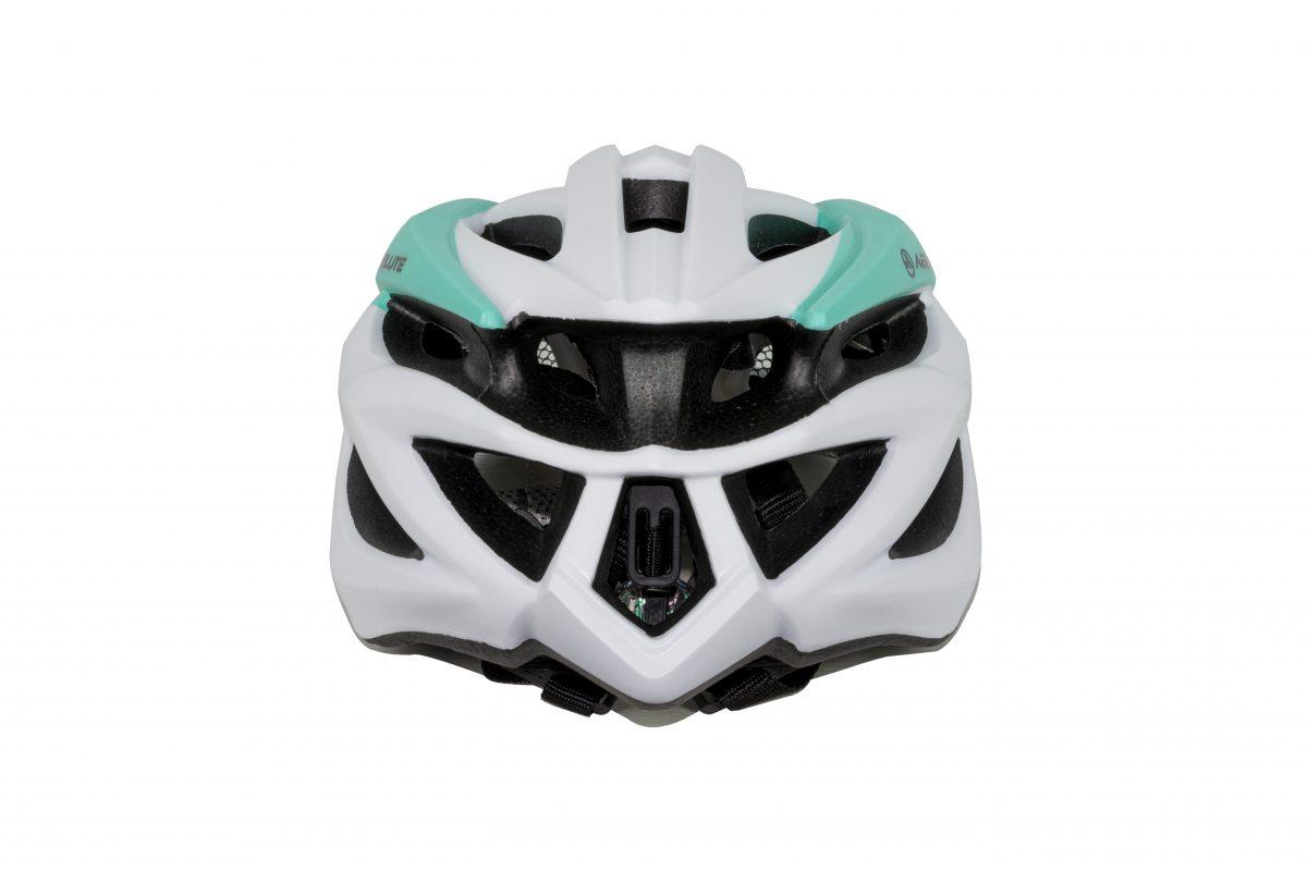 capacete absolute luna branco e verde 3