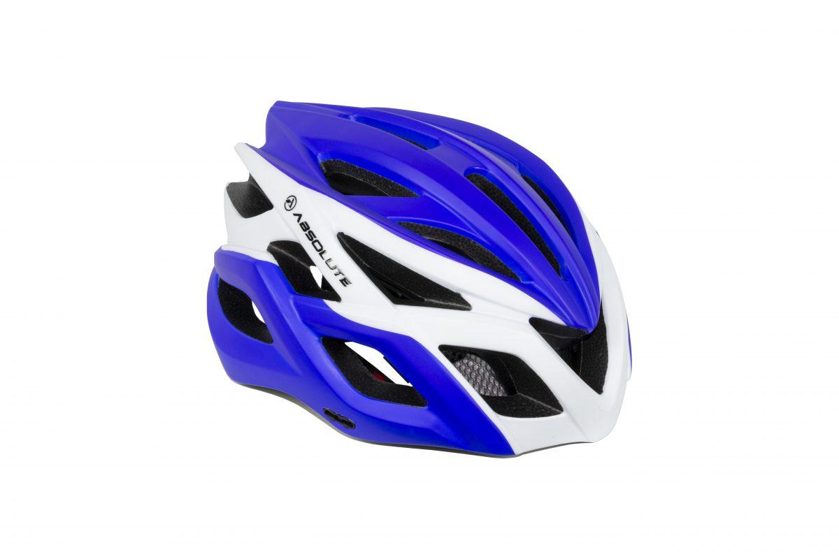capacete absolute wild flash branco e azul 2