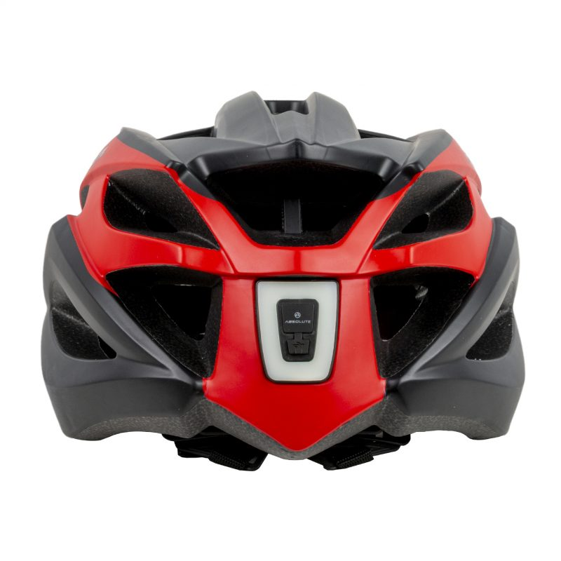 capacete absolute wild flash preto e vermelho 3