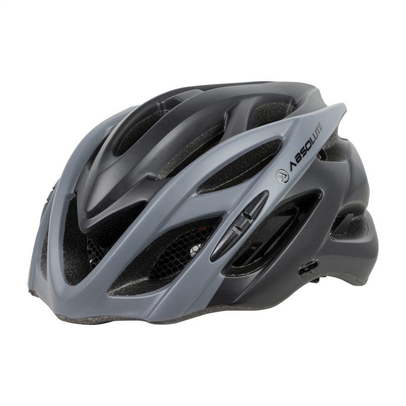 capacete absolute wild preto e cinza 2