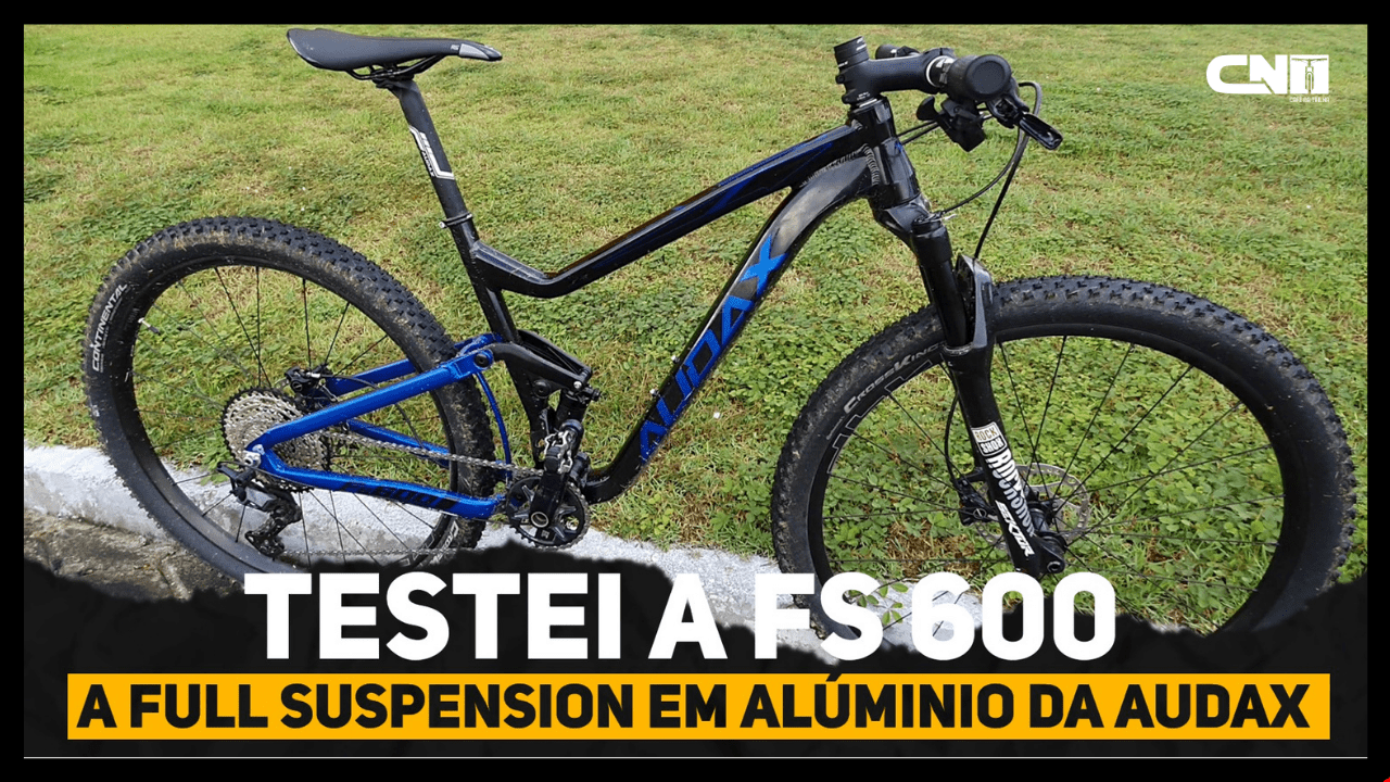 Audax FS 600 Mountain Bike Full Suspension em Alumínio - Café na Trilha
