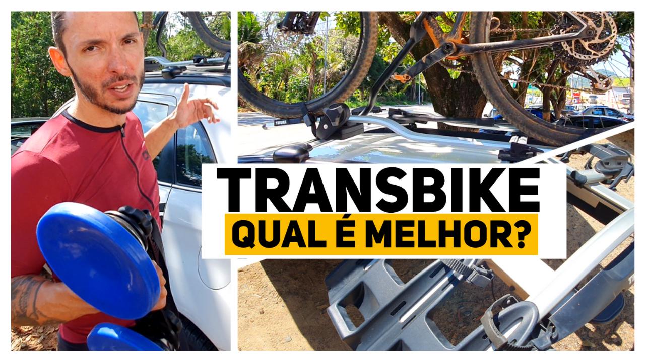 Transbike - Quando nos deparamos com a necessidade de carregar as bikes no carro, sempre aquela duvida, qual é melhor?