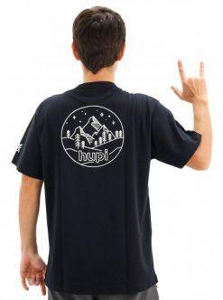 camiseta casual hupi colorado preto 9442